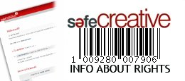 Registrado en Safe Creative