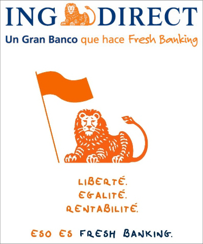 La crisis econ mica el banco online ing direct se lanza a for Oficinas ing direct barcelona