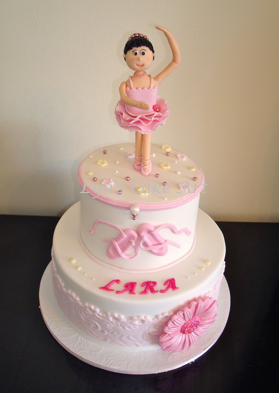 Cake Artist 4 You : Lyn s Cake Art: Ballerina Music Box