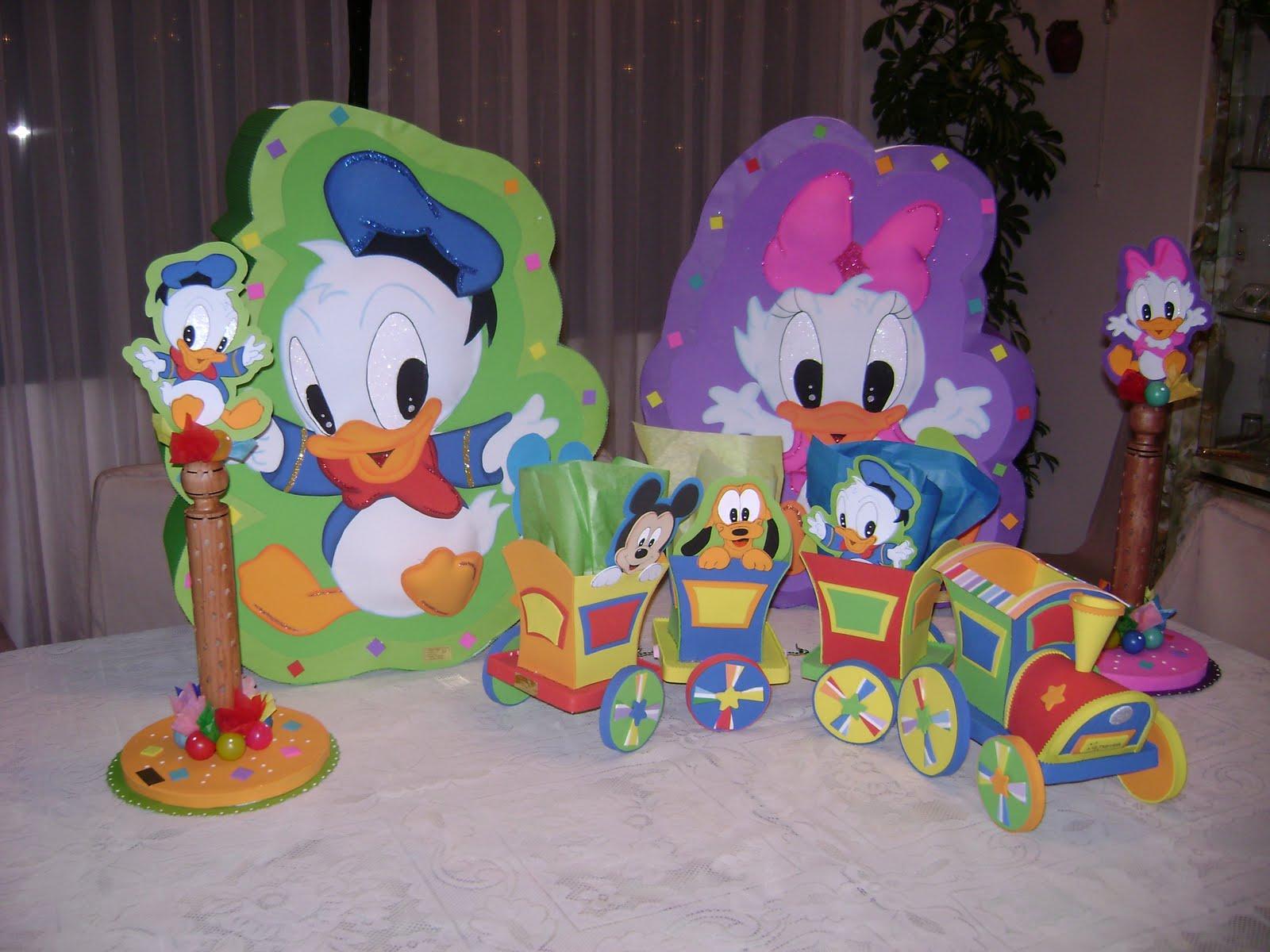 Piñatas de Donald y Daysi, Chupeteros de ambos personajes
