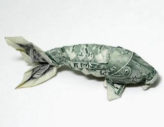 Dollar bill origami money origami koi carp instructions for Origami koi fish instructions