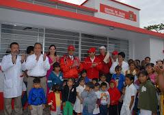 Inauguró FHB otro Centro de Salud en San Andrés Tuxtla