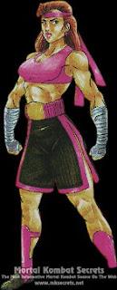 Kuriosidades juegos Mortal Kombat Kathy+long