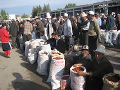 Bazaari Batkenissa Kirgisiassa