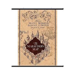 Harry Potter Toys: Harry Potter NECA Marauder\'s Map Poster