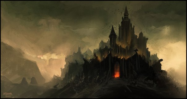 Dark Castle - Dark Castle And Scenery