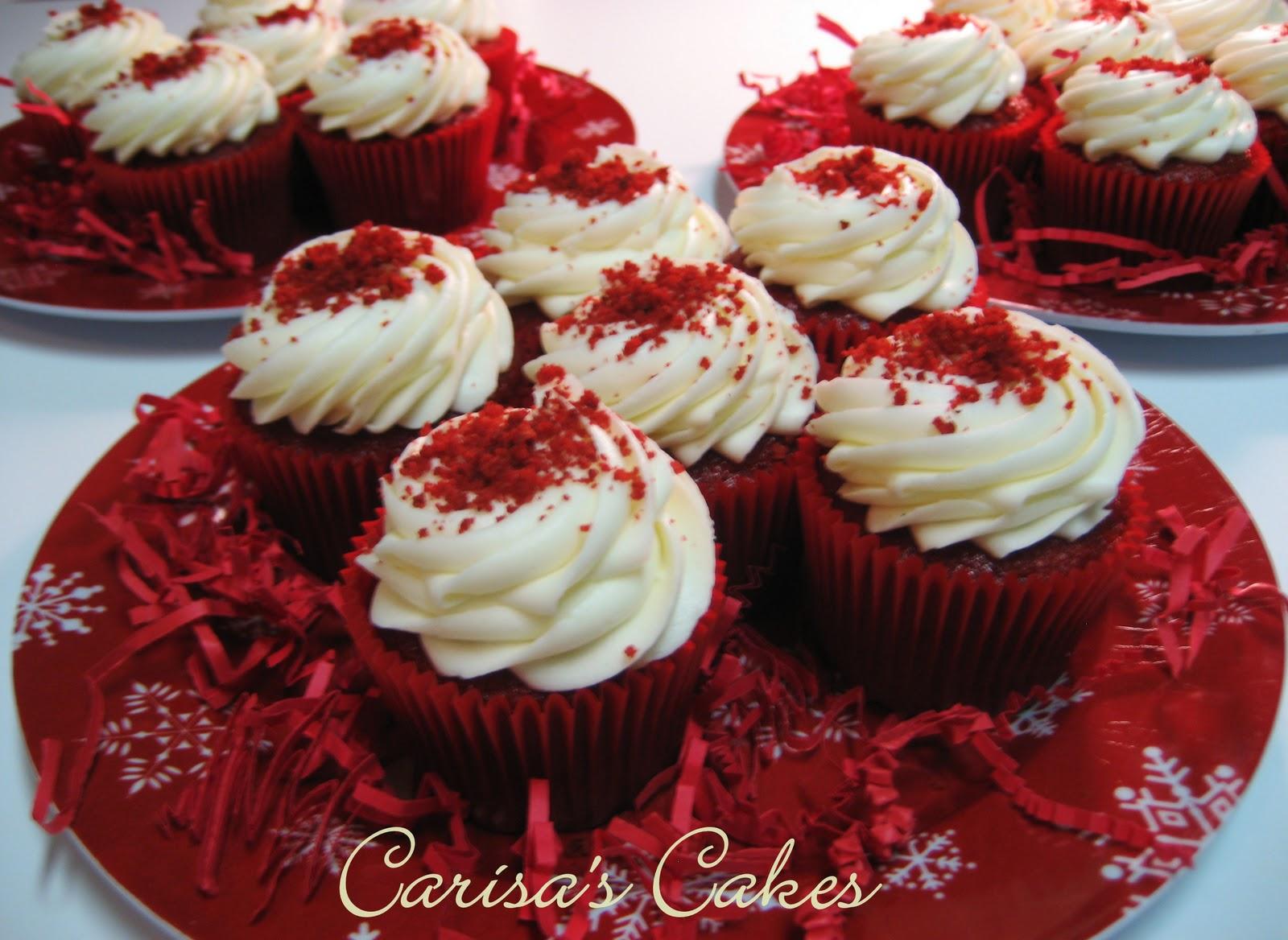 Carisa's Cakes: Red Velvet Cupcakes