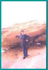 Me, rock-climbing in Marsa Matrouh!