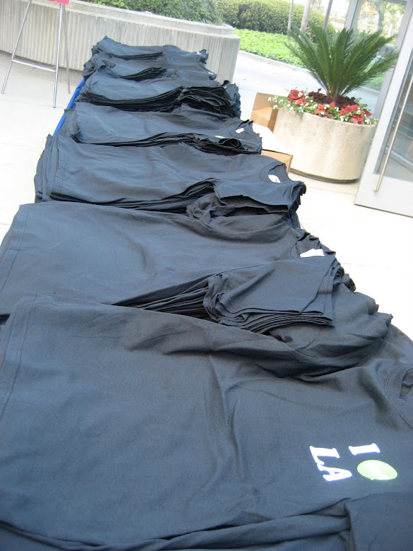 T-shirts for the 1,000+ Participants