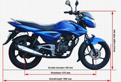 Bajaj XCD 135 DTS-Si Technical Specifications