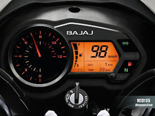 XCD 135 Digital Speedometer: Click for a larger picture