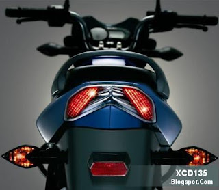LED Tail Light on the XCD 135 DTS-Si