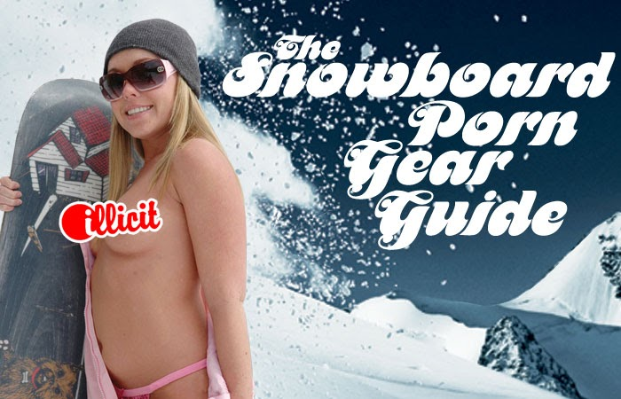 Girl sexy snowboard