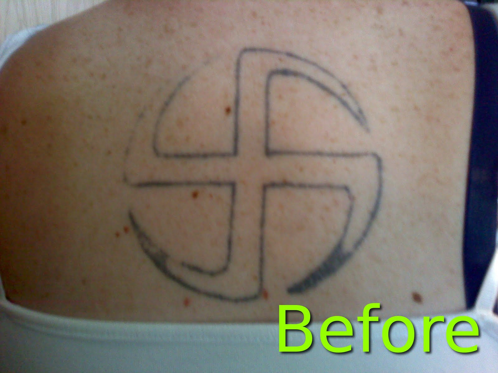 Ddefective Ink 10 Celtic Circle Cover Up