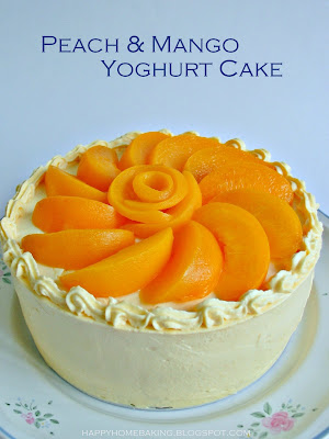 Mango Cream Cake No Bake