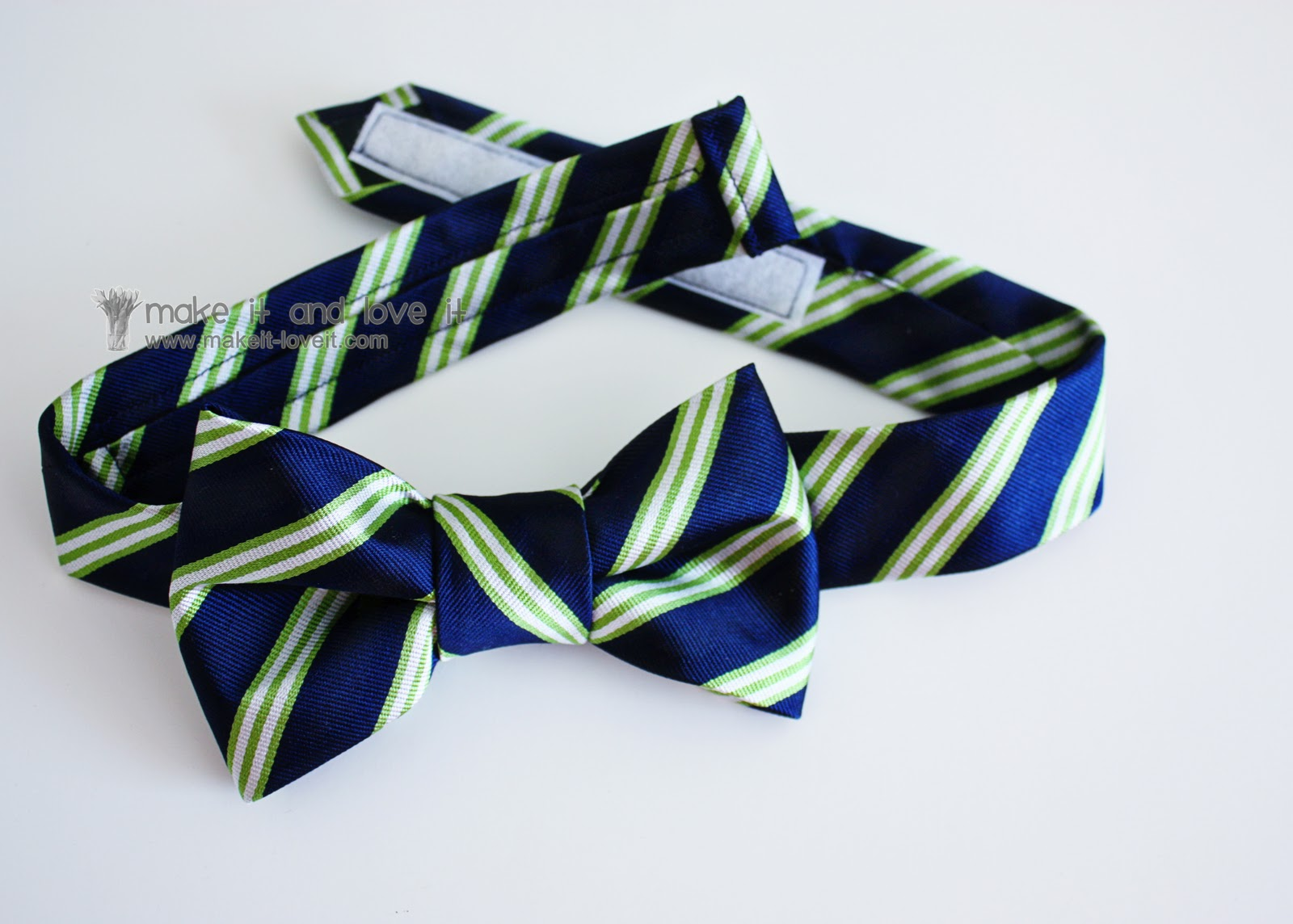 Repurposing: Neck Tie into Bow Tie | Make It and Love It