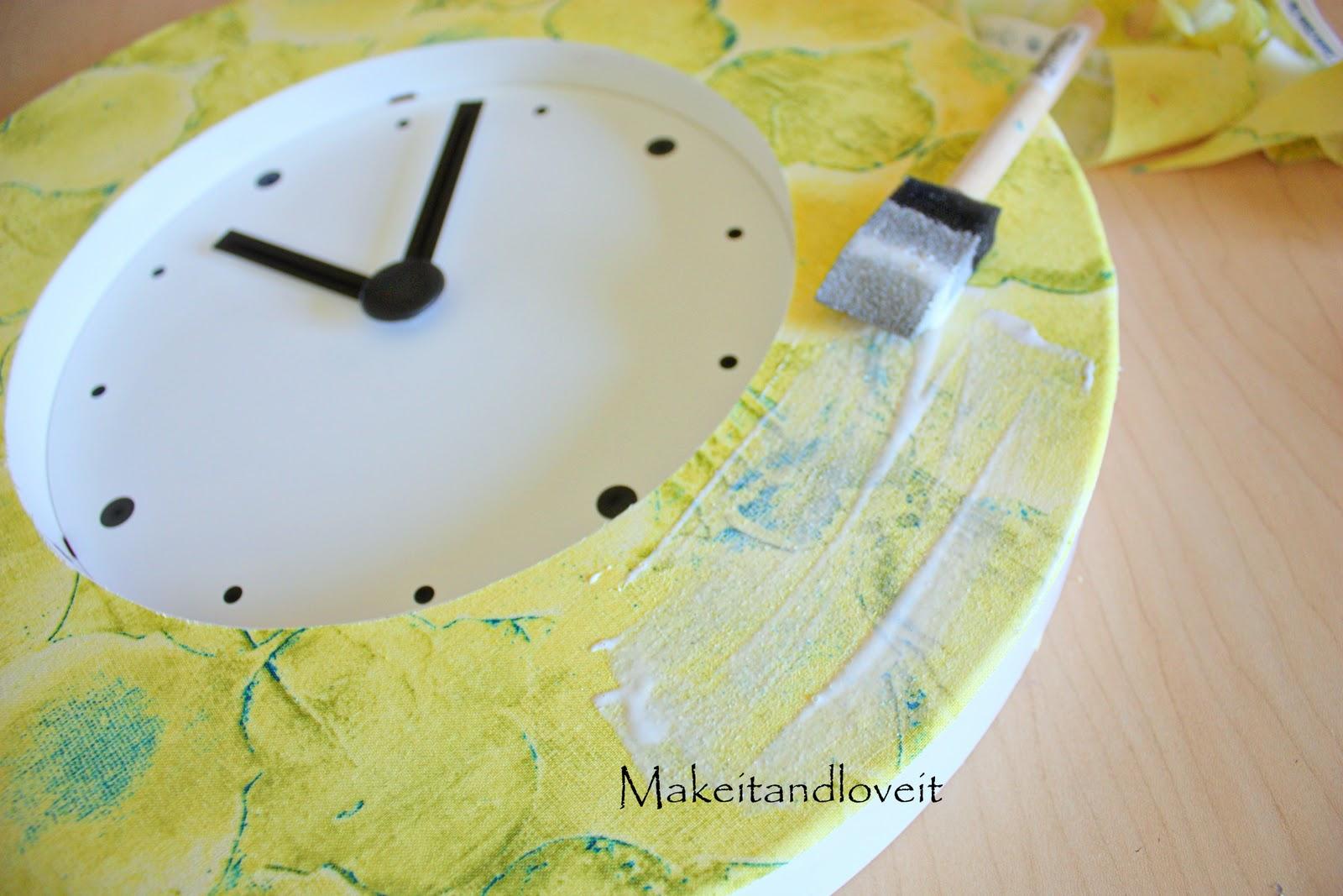 Как сделать красивые часы своими руками фото