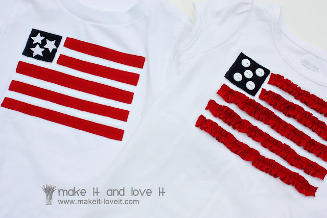 Reuse 4th of July shirts