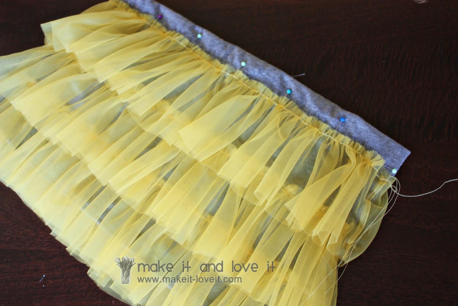 Волнистая юбка своими руками