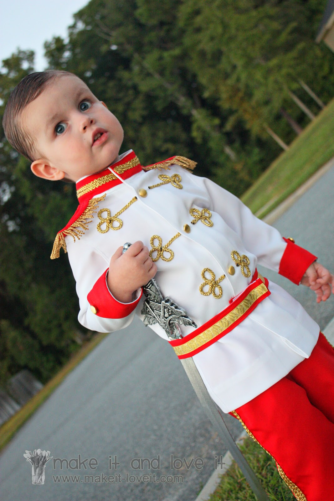prince charming costume tutorial from cinderella make