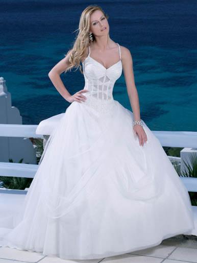 Beach Wedding Dresses 2011