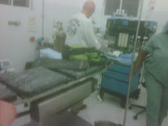 The OR when we arrived
