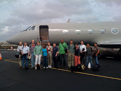 The team departs for Haiti