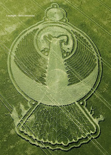 Gambar Misteri Crop Circle