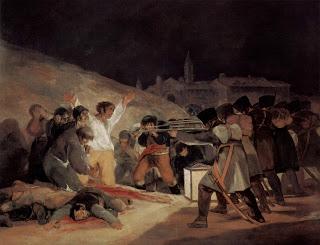 La represión de los francese tras el 2 de mayo enfureció a toda España