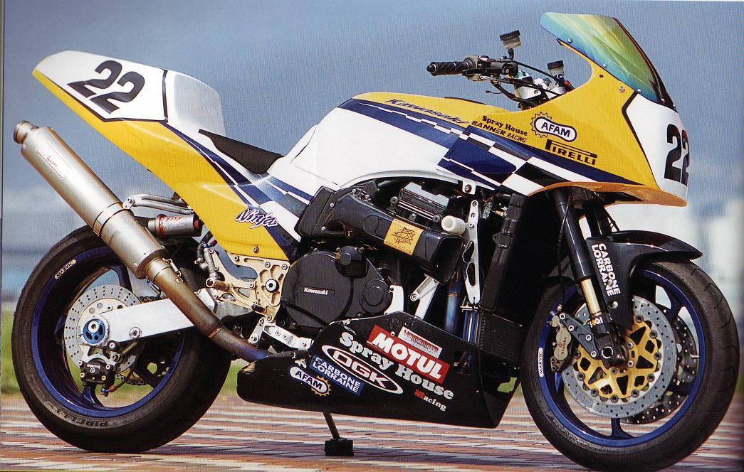 Kawasaki GPZ-R 900 et 750, 1000 RX, ZX 10 TOMCAT GroteFoto-EMXZRGVM