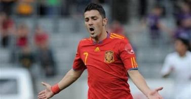david villa goleador seleccion española en sudafrica 2010