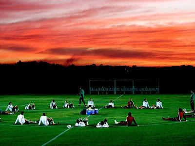 mexico ya entrena en sudafrica