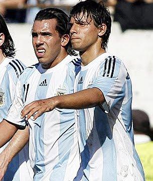 tevez y aguero no podran llevar sus apodos en la camiseta de argentina