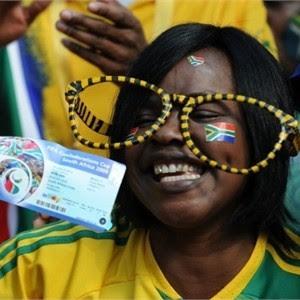 sudafrica 2010: fotos de fanáticos, hinchas y simpatizantes, fotos lindas y curiosas