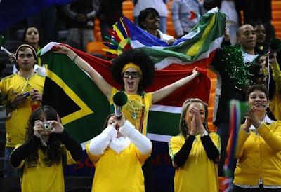 sudafrica 2010: fotos de curiosidades, fotos de fanáticos, hinchas y simpatizantes