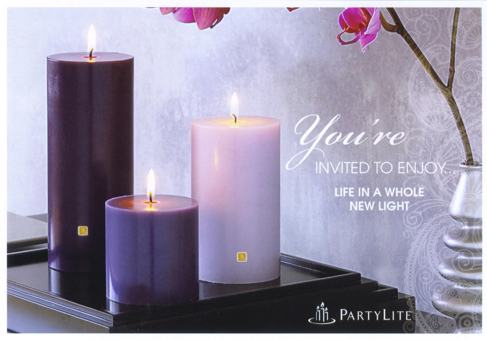 We Love Candles – Candle Party Invitations