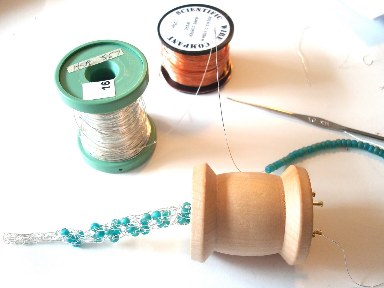 French Knitting With Beads : Jo hannah french knitting masterclass with teri howes