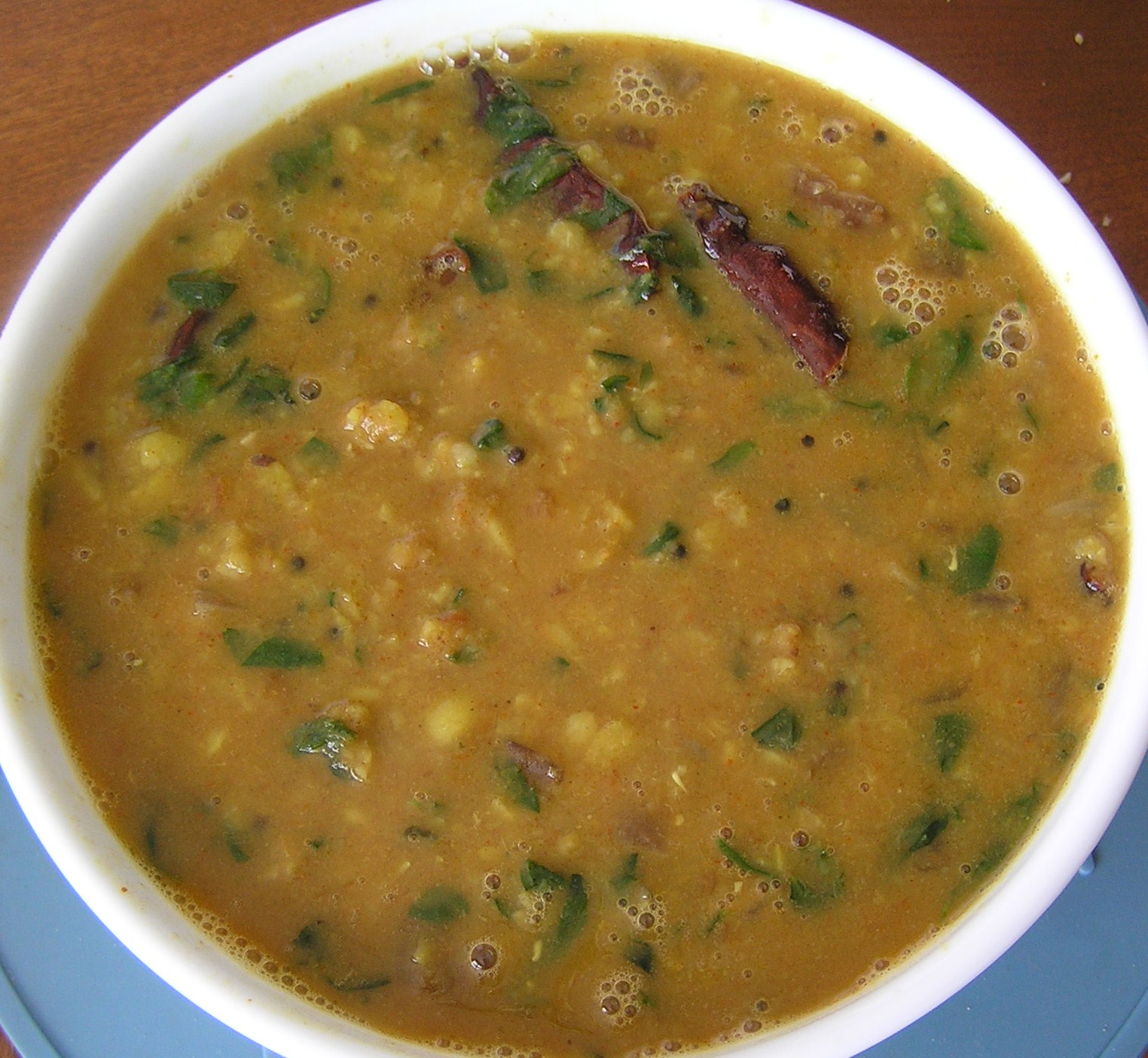 how to cook methi dal