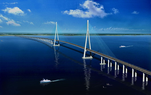 Jembatan nasional suramadu adalah jembatan yang melintasi selat madura