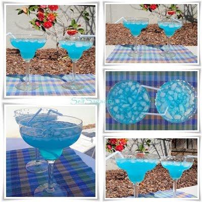 Blue Agave Margarita Mosaic