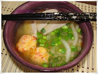 Udon and Lobster Balls