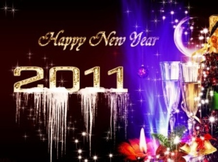 Free New Year 2011 Wallpapers, Beautiful Happy New Year 2011 Pictures &