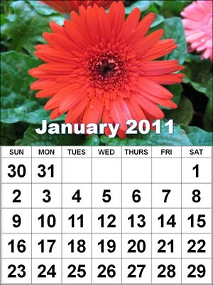 calendar 2011 & free new year Printable Calendar 2011 wallpapers.