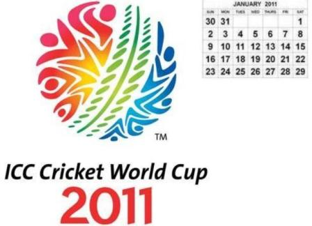Attached is an Outlook calendar for the ICC Cricket World Cup 2011 fixtures.