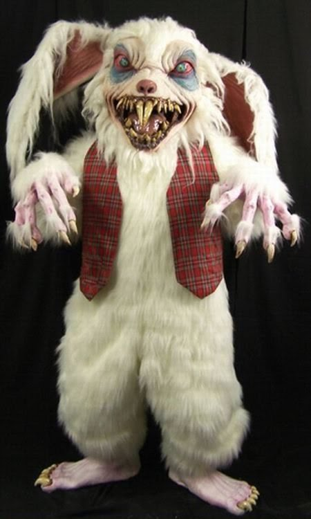 SCARY EASTER BUNNIES                                                                                              BUNNY FUNNY SCARY
