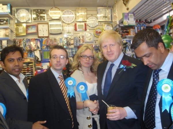 Boris Johnson Came To Tower Hamlets Today Investment Banking Blog Articles