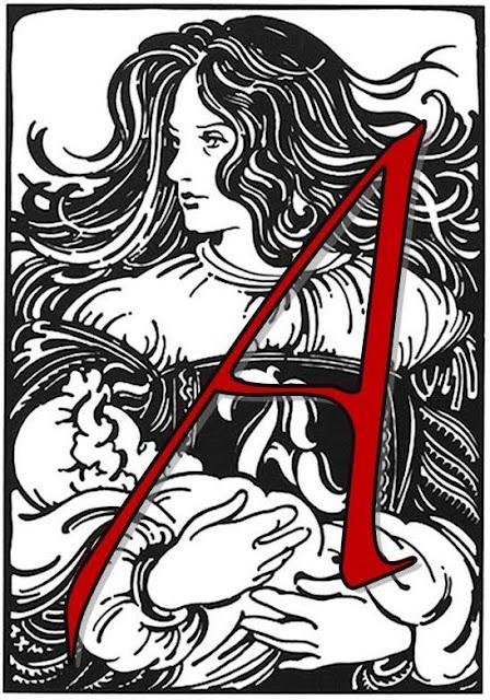 Scarlet Letter Font Download