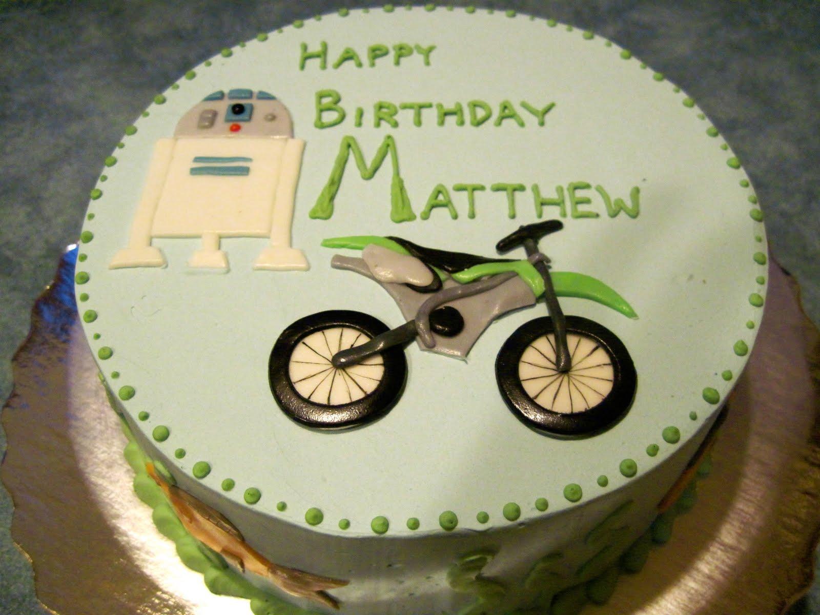 Enjoy Cake A Little Mans Birthday Cake