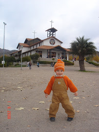 En el Santuario Sta. Teresita de Los Andes