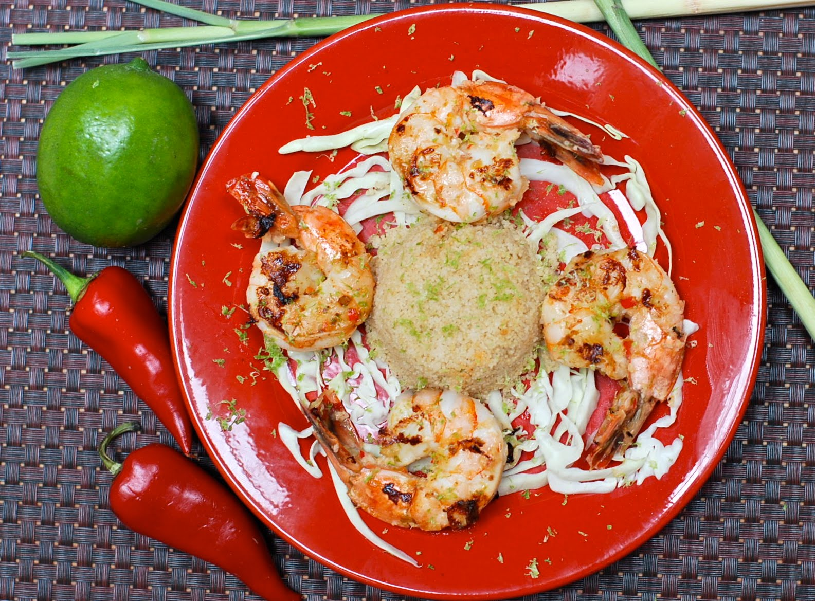 The Enchanted Cook: Lemongrass, Chile and Coconut Milk Shrimp